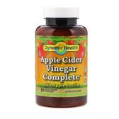 Apple Cider Vinegar Complete w/ Apple Pectin, 90 Caps, Dynamic Health