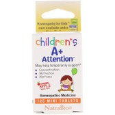 A+ Attention 125 Tabs, Herbs For Kids, UK