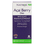 Acai Berry Diet 60 Caps Natrol, UK Store