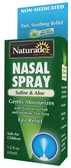 Saline & Aloe Nasal Spray 1.5 oz, Naturade