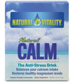 Natural Calm Packets-Regular 30 Packets, Natural Vitality, Stress