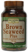 Brown Seaweed Plus 700mg 60 vCaps, Only Natural