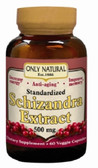 Schizandra Extract 500mg 60 vCaps, Only Natural