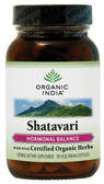 Shatavari 90 Caps Organic India, Hormonal Balance, UK Supplements