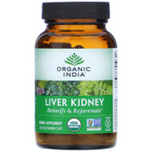 Liver Kidney 90 Caps, Organic India, UK store