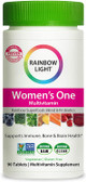 Women's One Multivitamin 90 Tabs Rainbow Light, UK Shop