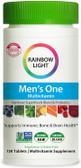 UK buy Men's One Multivitamin, 150 Tabs, Rainbow Light