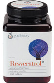 Resveratrol Advanced, 290 Tabs, Youtheory