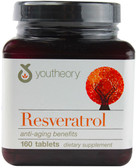 Resveratrol Anti-Aging, 160 Tabs, Youtheory