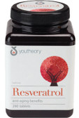 Resveratrol Anti-Aging 290 Tabs, Youtheory