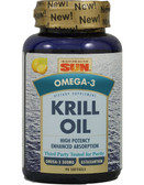 Krill Oil 90 Softgels, Health From The Sun