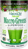 UK Buy Macro Greens 10 oz, Macro Life Naturals, Superfood, Immune Support
