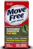 Move Free Advanced Plus MSM 120 Tabs Schiff, Joints