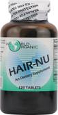 Hair Nu 120 Caps, World Organics