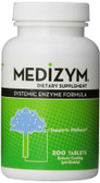 Medizym Systemic Enzyme Formula 200 Tabs, Naturally Vitamins, Wellness, UK