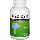 Medizym Systemic Enzyme Formula 800 Tabs, Naturally Vitamins, Wellness