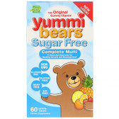Buy UK MultiVitamin & Mineral 60 Gummies, Yummi Bears