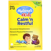 Buy UK Calm 'n Restful 4 Kids 125 Tabs Hylands, Calms Forte 4 Kids