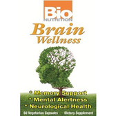 Brain Wellness 60 vCaps, Bio Nutrition, Memory, Mental Alertnes