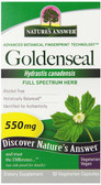 Goldenseal Root 50 Caps, Nature's Answer, UK Shop