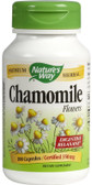 Chamomile Flowers 350mg 100 Caps, Nature's Way, Digestive Relaxant, UK