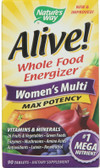 Alive! Women's Multi Max Potency 90 Tabs, Nature's Way, UK