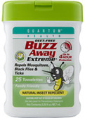 Buzz Away Extreme Repellent Pop-Up Towelette Dispenser 25 ct, Quantum