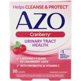 UK Buy AZO, Cranberry Urinary Tract Health 50 Tabs, I-Health