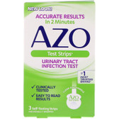 AZO Urinary Tract Infection Test Strips 3 ct, I-Health, UK