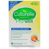 Culturelle Natural Wellness 30 sGels, Probiotic, UK Store