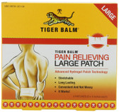 Tiger Balm Pain Relieving Patch 8x4 inch Large Size 4 ct, Tiger Balm, UK