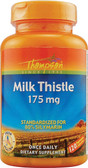 Milk Thistle Extract 175mg 120 Caps, Thompson, Liver Detox