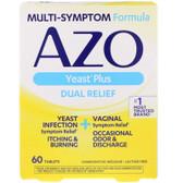 UK Buy AZO, Yeast, 60 Tabs, I-Health