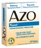 AZO Yeast 60 Tabs, I-Health