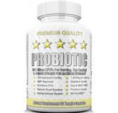 Ultra Probiotic 50 Billion CFUs Intestinal Flora Ultimate Defense 60 Caps