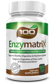 Enzymatrix Complete Digestive Enzyme System 60 Caps, UK Digestion Supplements