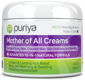 Eczema, Psoriasis, Rosacea Puriya Cream 4.5 oz, Dermatitis, Shingles UK Natural Supplements