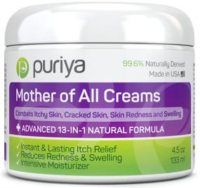 Buy Eczema, Psoriasis, Rosacea Puriya Cream 4.5 oz, Dermatitis, Shingles UK Natural Supplements