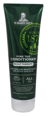 Pine Tar Conditioner 8 oz, Grandpa's, Dandruff, Seborrhea and Psoriasis, UK store