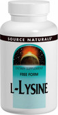 L-Lysine 500 mg 100 Tabs Source Naturals, Cold Sores