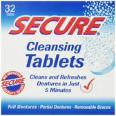 Buy Secure Denture 32 Cleansing Tabs Bioforce Anti-Bacterial Online, UK Delivery, Oral Teeth Dental Care