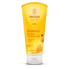 Buy Calendula Baby Shampoo & Body Wash 6.8 oz Weleda Online, UK Delivery,