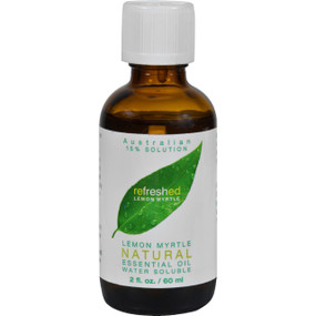 Buy Lemon Myrtle 15% Water Soluble Oil 2 oz Tea Tree Therapy Online, UK Delivery