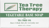 Buy Vegetable Base Soap 3.5 oz Tea Tree Therapy Online, UK Delivery,