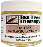 Buy Tea Tree Antiseptic Ointment 2 oz Tea Tree Therapy Online, UK Delivery, Injuries Burns injury treatment Aches Pains