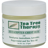 Buy Tea Tree Therapy Eucalyptus Chest Rub 2 oz Tea Tree Therapy Online, UK Delivery, Lung Bronchial Remedy Relief Treatment Respiratory Chest Rub