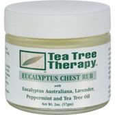 Tea Tree Therapy Eucalyptus Chest Rub, 2 oz, Tea Tree Therapy