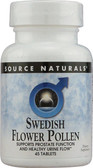 Swedish Flower Pollen 45 Tabs Source Naturals