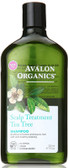 Buy Shampoo Tea Tree Scalp Treatment 11 oz Avalon Online, UK Delivery,