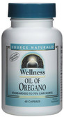 Wellness Oil of Oregano 60 Caps Source Naturals, Digestion, Joints, Immune